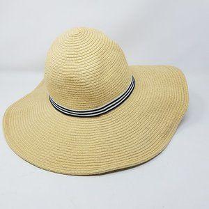 J. Crew hat straw sun wide brim